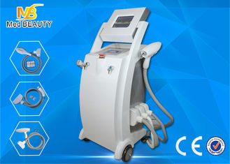 Chiny Salon E-Light Ipl RF Hair Removal Machine / Elight Ipl Rf Nd Yag Laser Machine dostawca