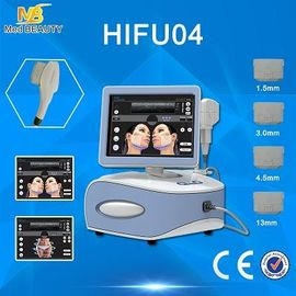 Chiny Portable Hifu Machine Beauty Equipment Superficial Deel Dermis And SMAS dystrybutor