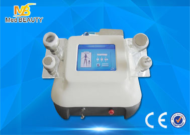 Chiny Face Lifting Ultrasonic Cavitation Rf Slimming Machine , 8 Inch Color Touch Screen dystrybutor
