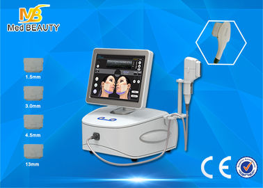 Chiny Professional High Intensity Focused Ultrasound Hifu Machine For Face Lift dystrybutor