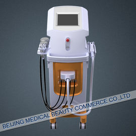 Chiny 755nm Ipl Hair Removal Machines with cavitation rf slimming perfect combination dystrybutor