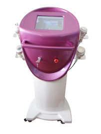 Chiny Ultrasonic Cavitation + Monopolar RF+ Tripolar RF Beauty Machine + Vacuum Liposuction dystrybutor